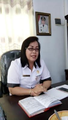 Kepala DP2KB Mitra, Anna Dotulong.