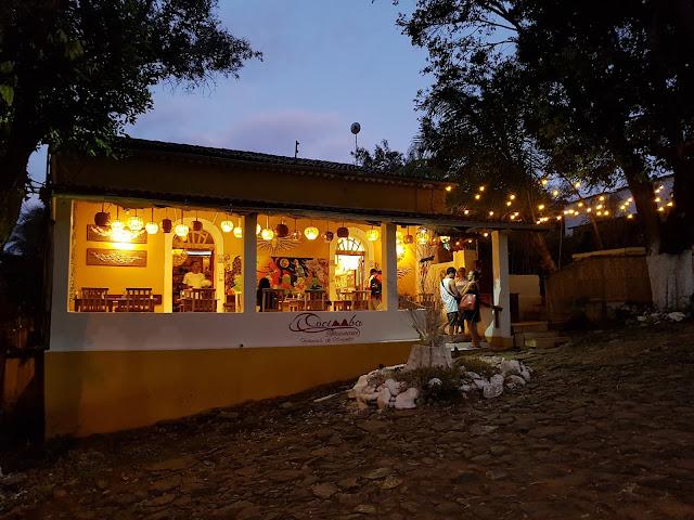 Entrada do Restaurante Cacimba - Fernando de Noronha