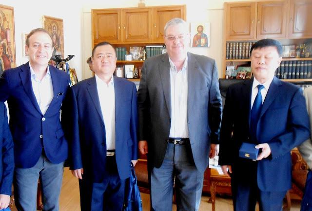 Συνάντηση για τα επόμενα βήματα της συνεργασίας της Ηπείρου με την Περιφέρεια jilin Kίνας