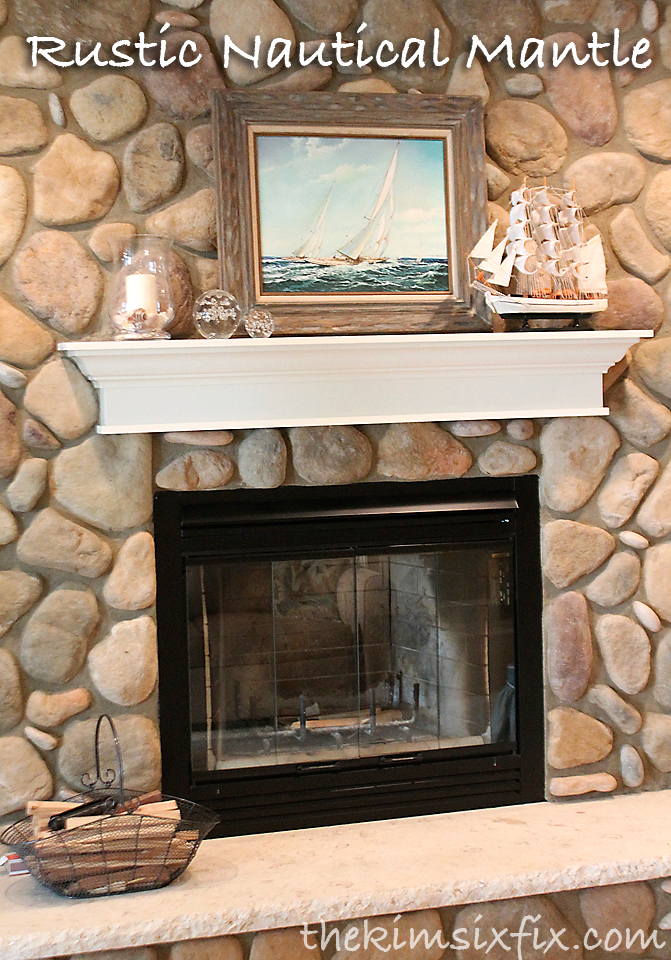 Rustic Nautical Inspired Mantle