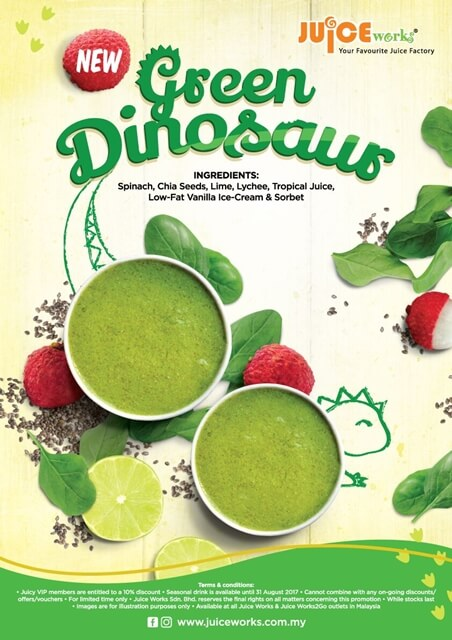 Green Dinosaur Juice Works