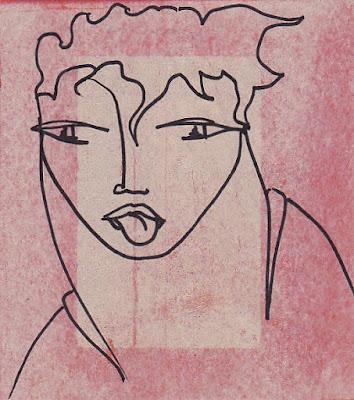 Les Portraits DESSINS ORIGINAUX par AZa ... *) alias AGNESetlesNUAGES