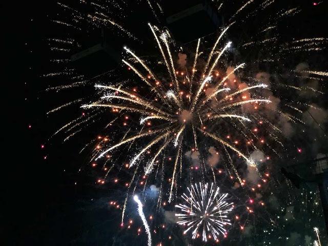 Parque das Nações fogo de artifício