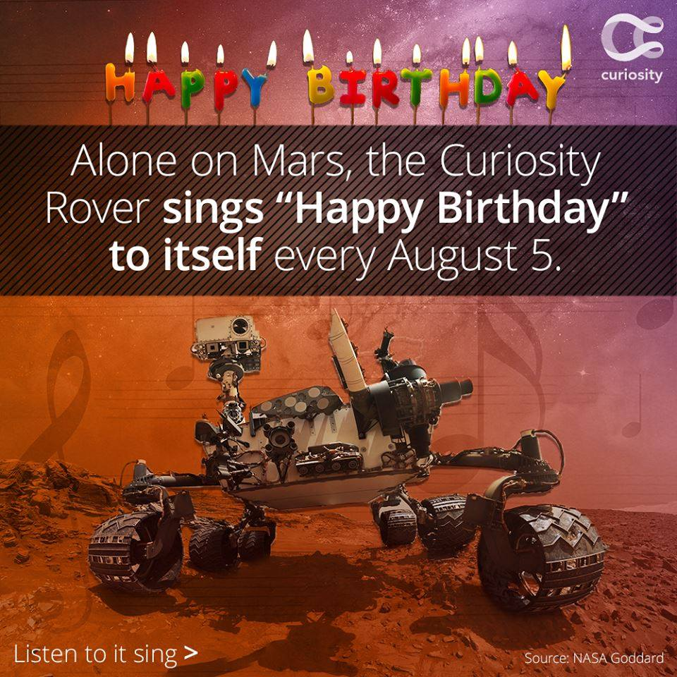 birthday of mars rover - photo #1