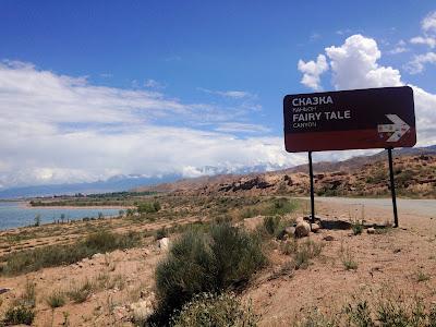Fairy Tale Canyon tabliczka