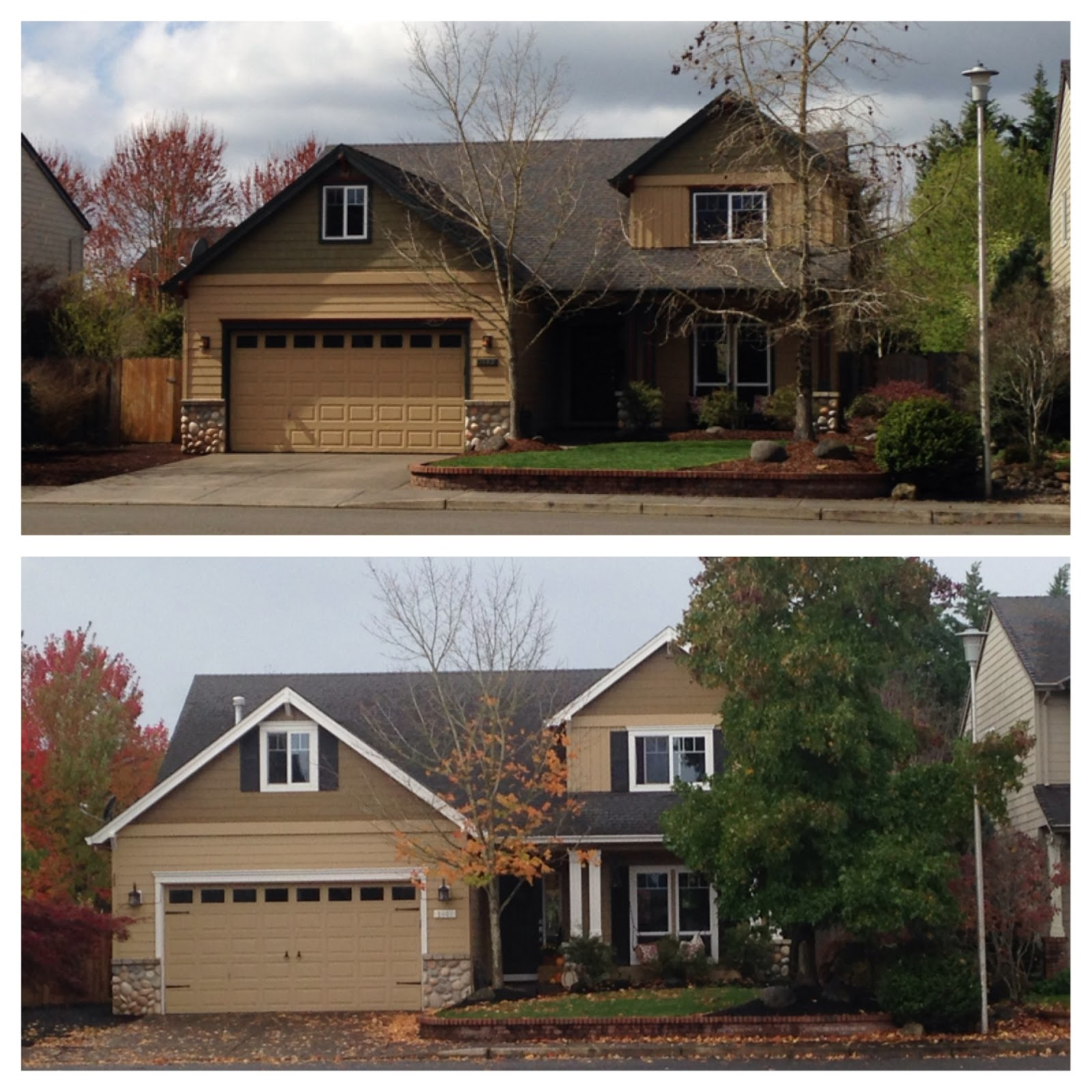 Inside Heather S Home Craftsman Curb Appeal Before Amp After