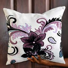 Flowers Design Decorative Throw Pillows, Covers in Port Harcourt Nigeria