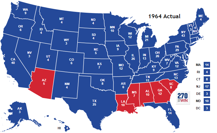 Losing the North: Republican Realignment | dagblog on
