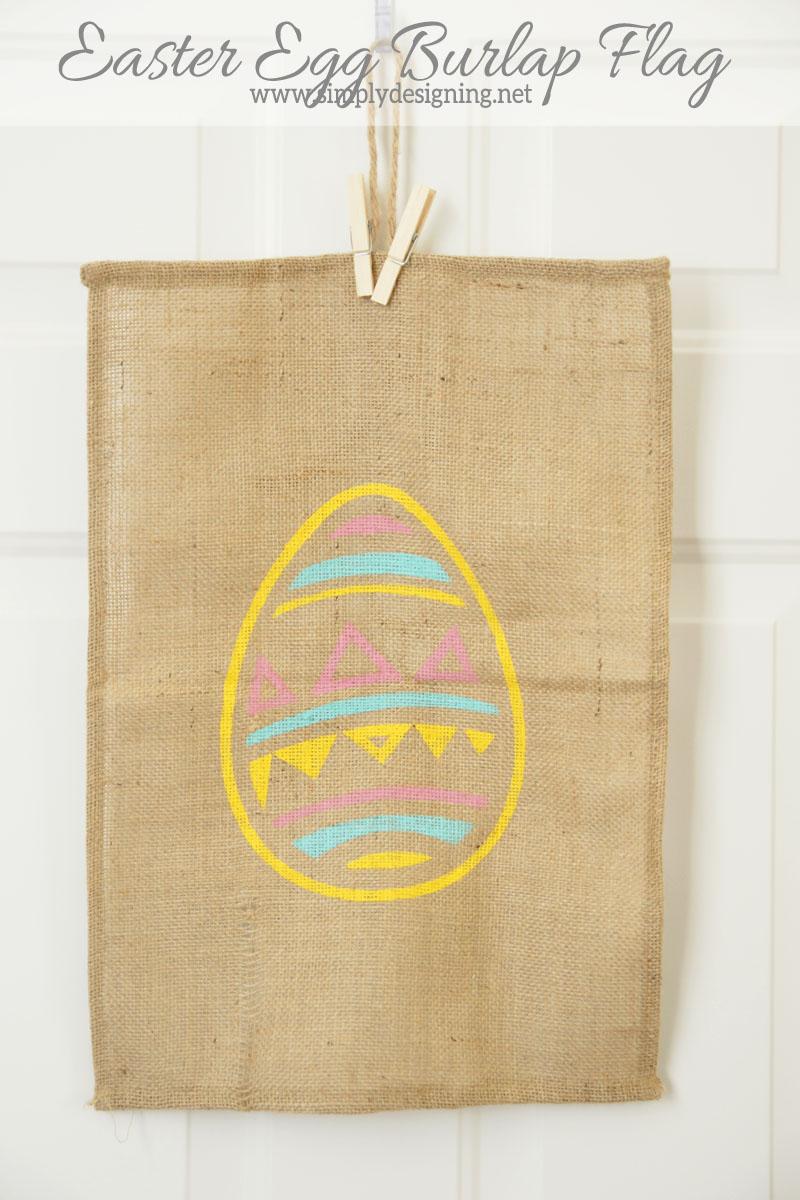 easter+egg+burlap+flag Easter Egg Burlap Flag 11