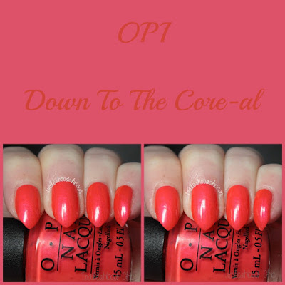 opi down to the core-al swatch