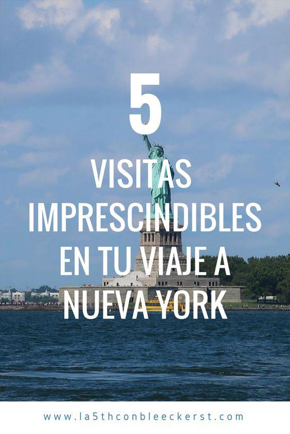 visitas imprescindibles en tu viaje a Nueva York