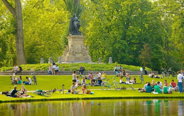 Parques em Amsterdã