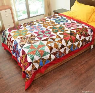 bedcover dari kain perca - berbagaireviews.com