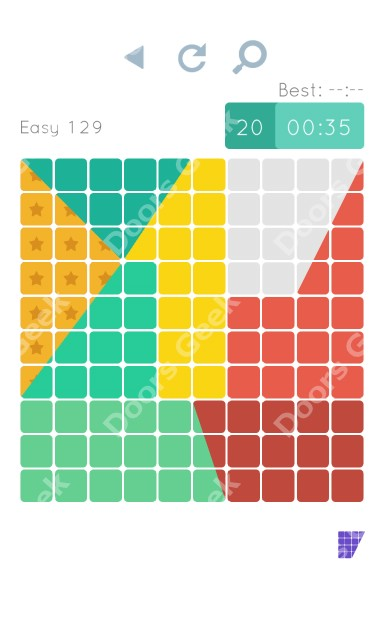 Cheats, Walkthrough for Blocks and Shapes Level 129