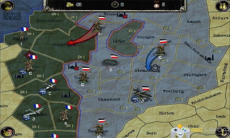 تحميل لعبة استراتيجيات وتكتيكات Strategy and Tactics للكمبيوتر وللاندرويد