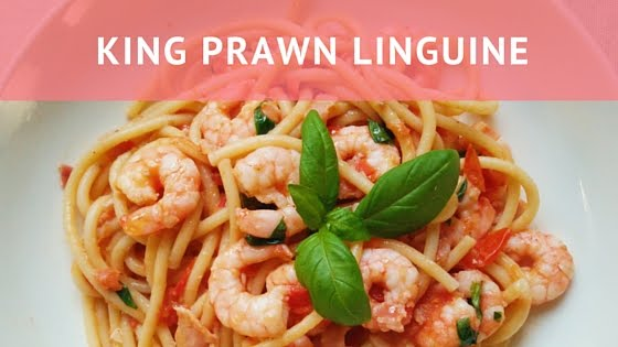 King Prawn Linguine Recipe