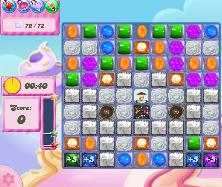 Candy Crush Saga level 2840