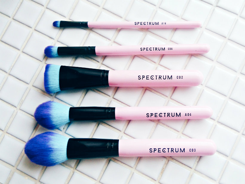 Spectrum Vegan Make-Up Brushes