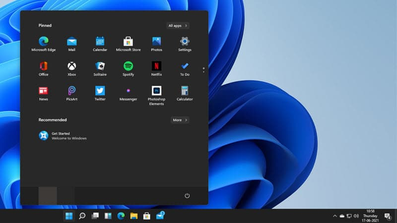 Windows 11 allows you to reposition Start Menu left aligned