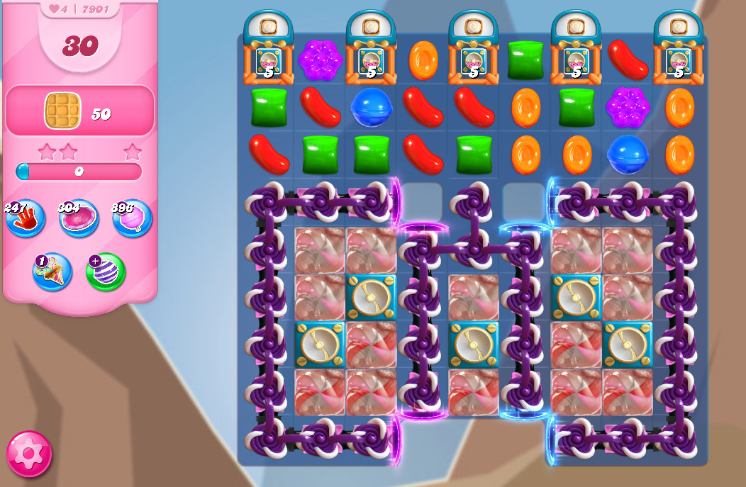 Candy Crush Saga level 7901