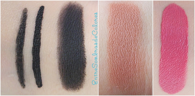 swatches maquillaje low cost Deliplus (Mercadona)