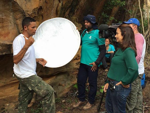 Guia de Turismo de Olho D'Água do Casado é destaque no Globo Repórter desta sexta - feira (11)