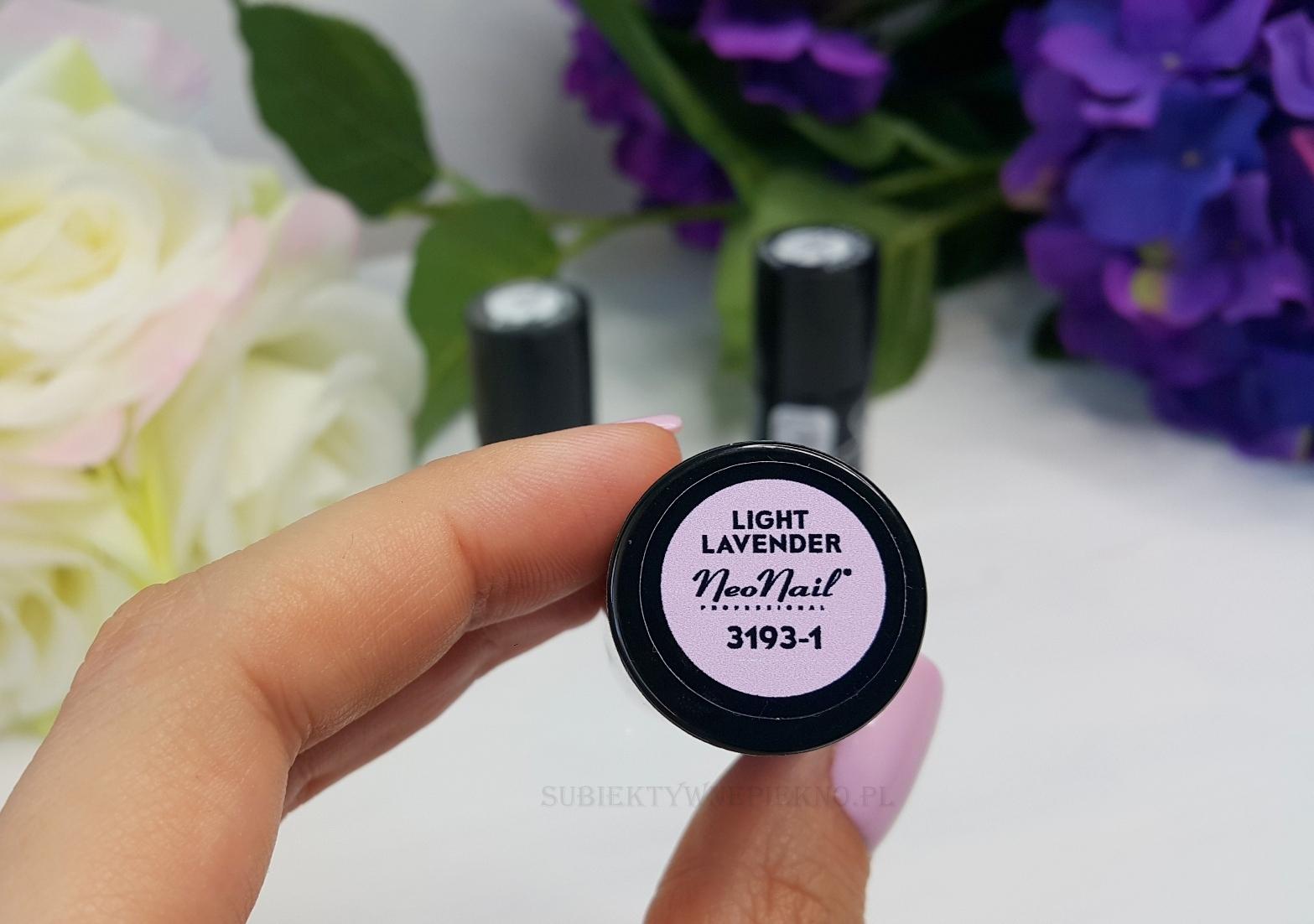 Lakier hybrydowy Light Lavender NeoNail 3193