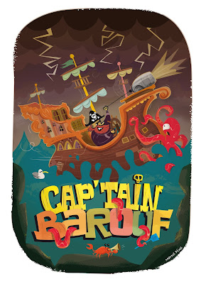 Illustration jeunesse : capitaine Barouf