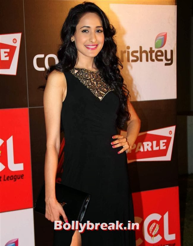 Pragya Jaiswal, Hot Celebs Grace the Celebrity Cricket League 4 Press Meet
