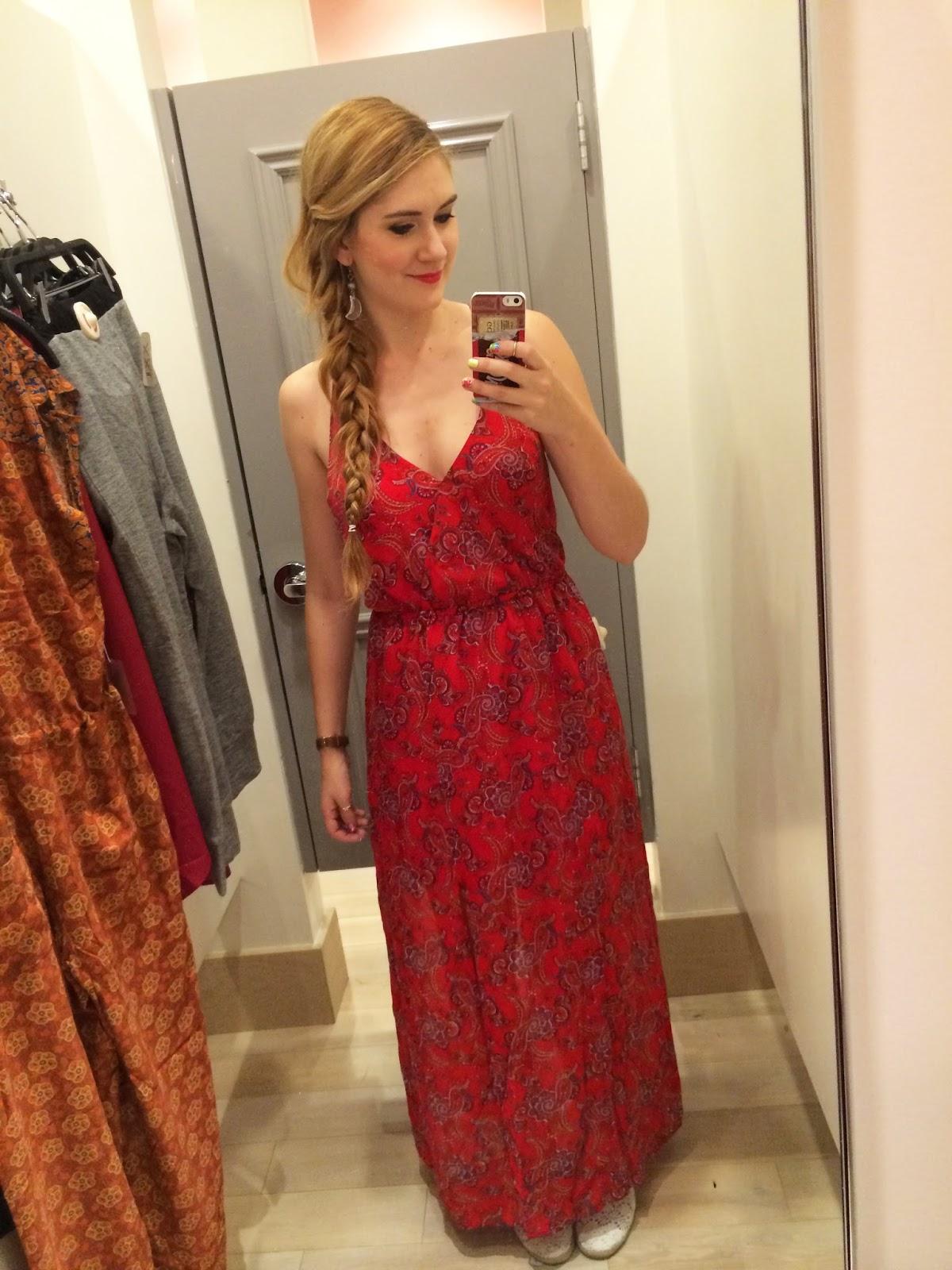 Forever21 dress, Forever 21 maxi dress, Forever 21 Panama
