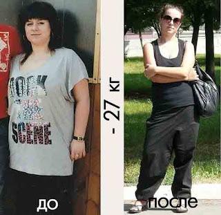 Оля убрала лишний жир за неделю