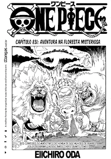 One Piece 831 Mangá Português leitura online