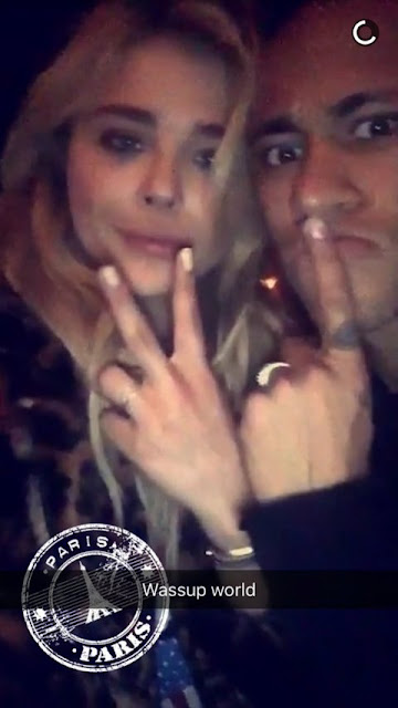 Neymar y Chloe Moretz ¡un posible romance en París!