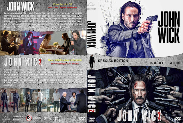 John Wick / John Wich 2 Collection DVD Cover