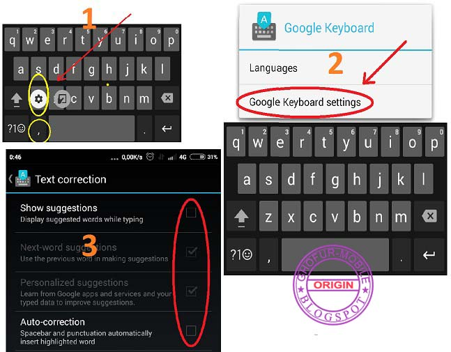 Cara Setting Google Keyboard Di Android Sekedar Sharing