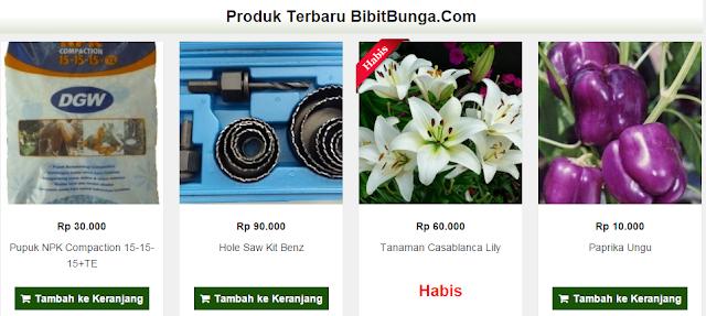 Produk Produk Di BibitBunga.Com