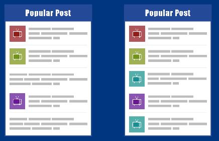 Bài viết phổ biến hỗ trợ thumbnail khi không có hình ảnh