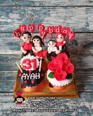 Cupcake Ulang Tahun Untuk Ayah