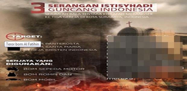 Gila! Buletin Al Fatihin Terang-terangan Serukan Jihad Seperti Bom Surabaya