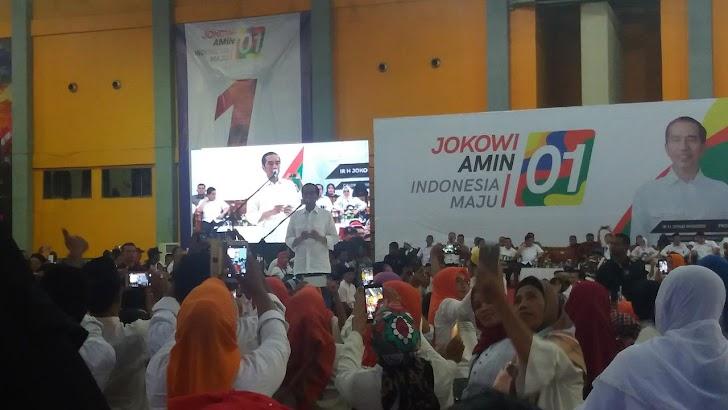 Jokowi Katakan Ingin Menang Besar di Sulawesi Selatan
