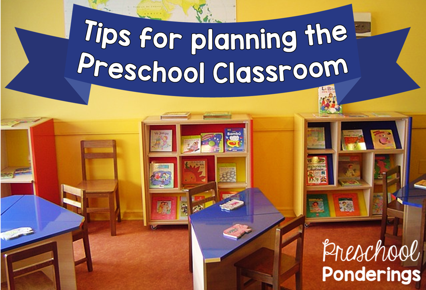 Preschool Ponderings Planning The Classroom Environment