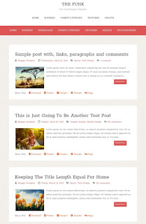 The funk Free Best Responsive Seo Friendly Template 2019