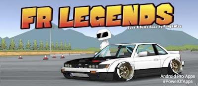 تحميل FR Legends مهكره لعبة دريفتات السيارات