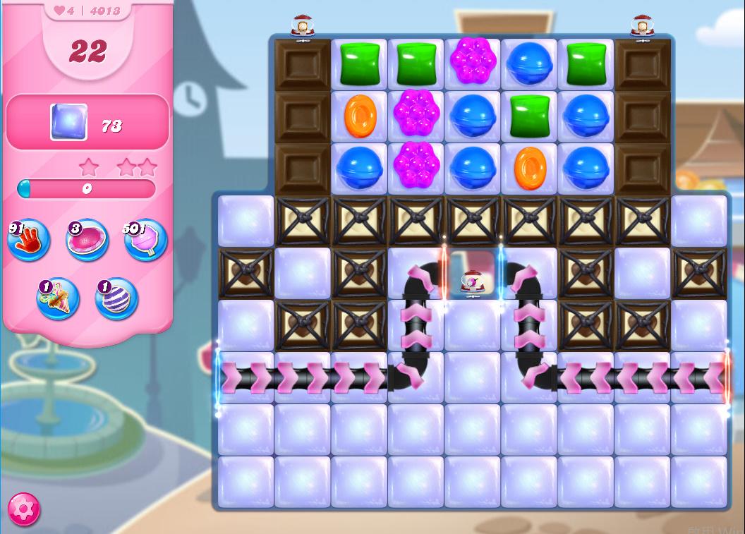 Candy Crush Saga level 4013