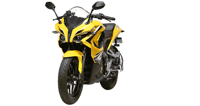 Bajaj Pulsar RS 200 Front view HD Image