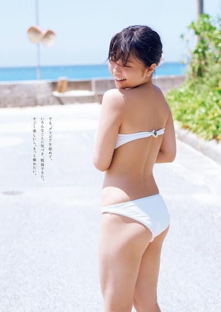 大原優乃 Ohara Yuno Weekly Playboy No 38 2017 Pics
