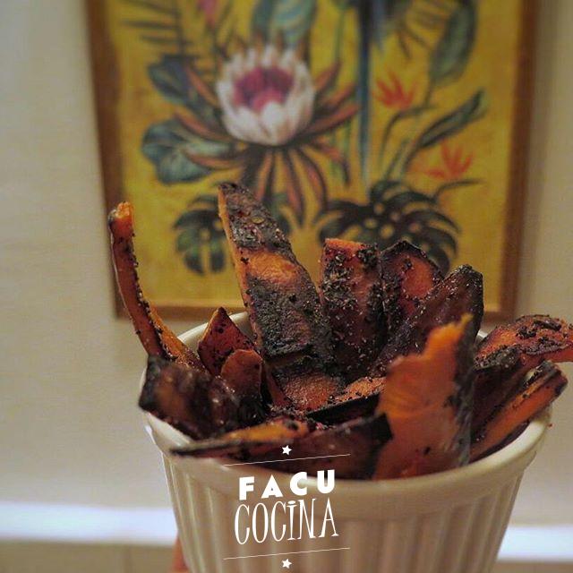 Snack de cascaras de zapallo anco