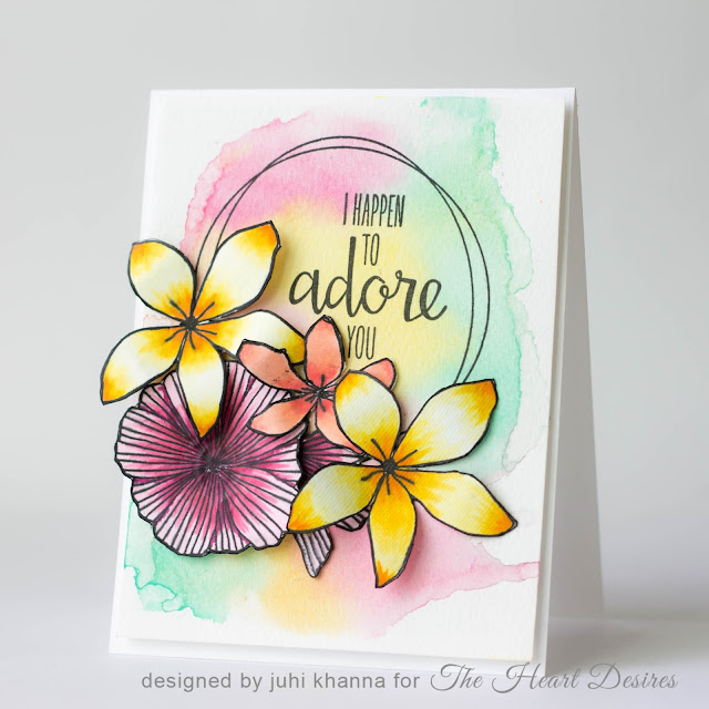 Concord and 9th Wildflower Watercolor card