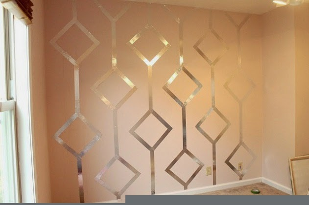 diy painting wall pattern