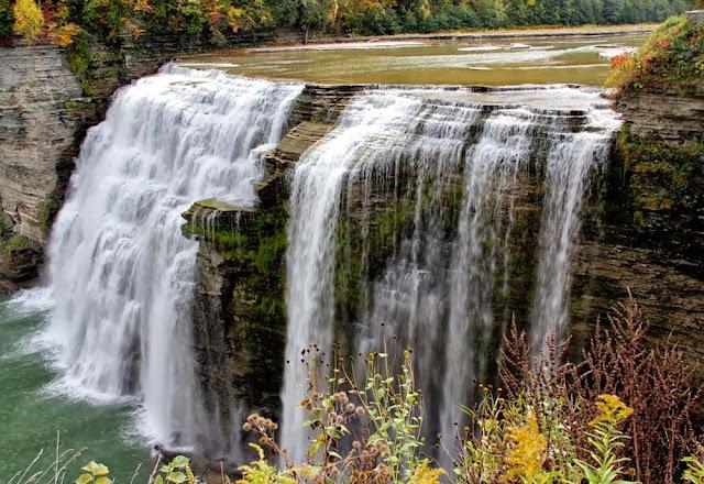 Cachoeira Middle - estado de Nova Iorque - USA